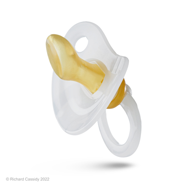 Nuk size 1 latex soother, disposable, ready to use, 10.181.009